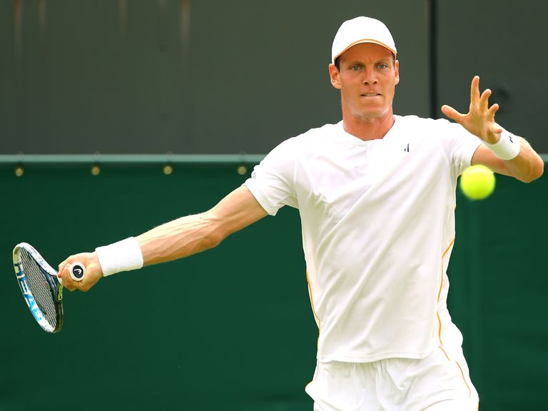 Tomas Berdych: Fought back from a set down to win