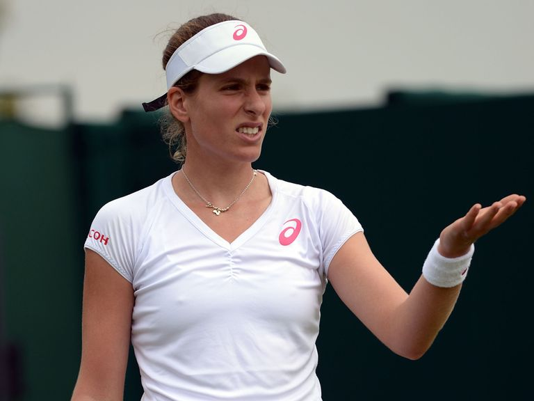 Johanna Konta: Beaten in round one