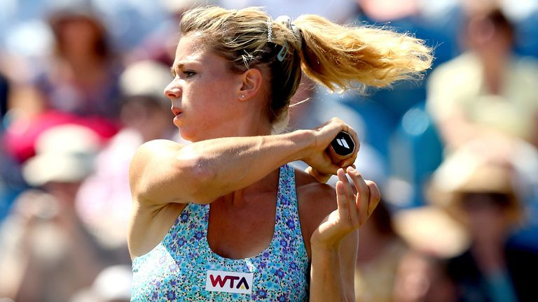 Camila Giorgi: Amongst the seeds to depart in Bastad on Wednesday