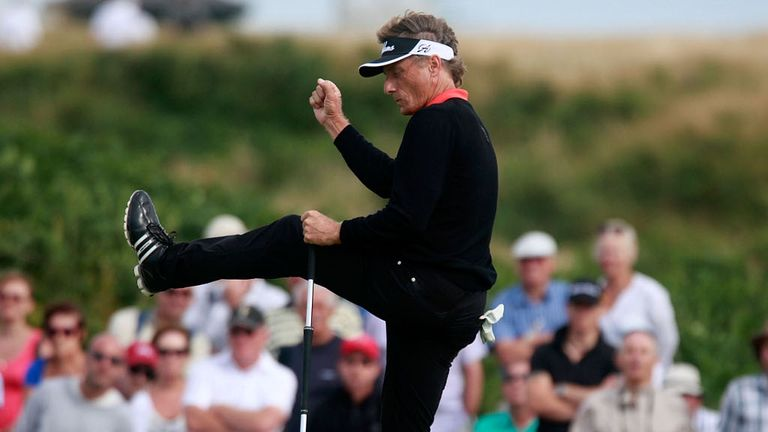 Langer: Turned on the style in Wales