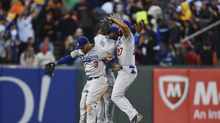 Los Angeles Dodgers: Completed a series sweep over the Giants on Sunday