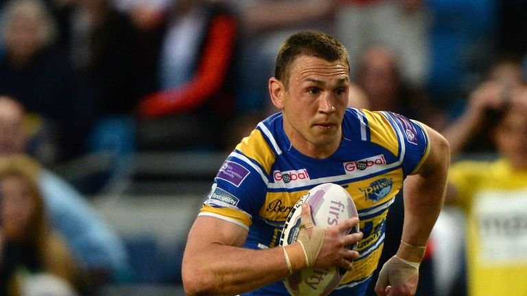 Kevin Sinfield: The Rhinos skipper is yet to win a Challenge Cup