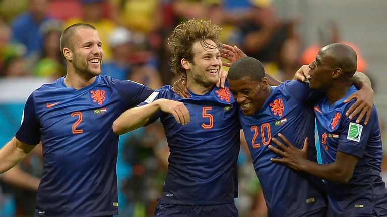 Daley Blind has headed an impressive group of domestic-based Dutch stars in Brazil