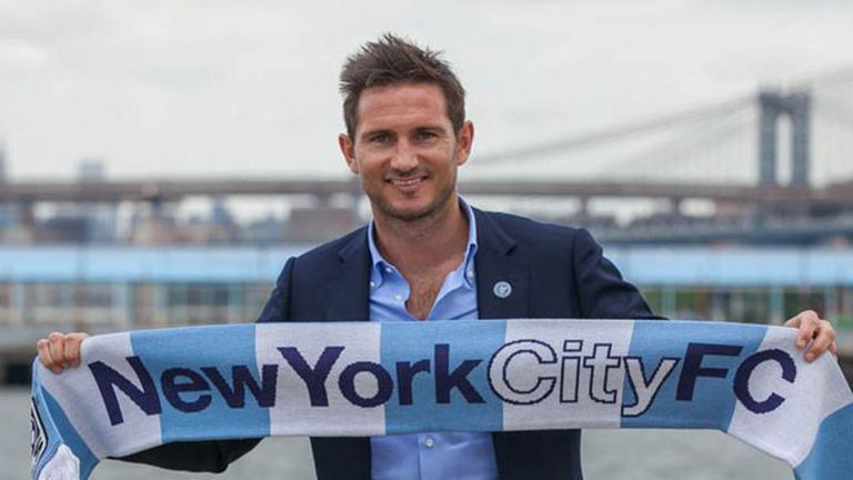 Frank Lampard: New York City midfielder in talks with  Manchester City over loan move