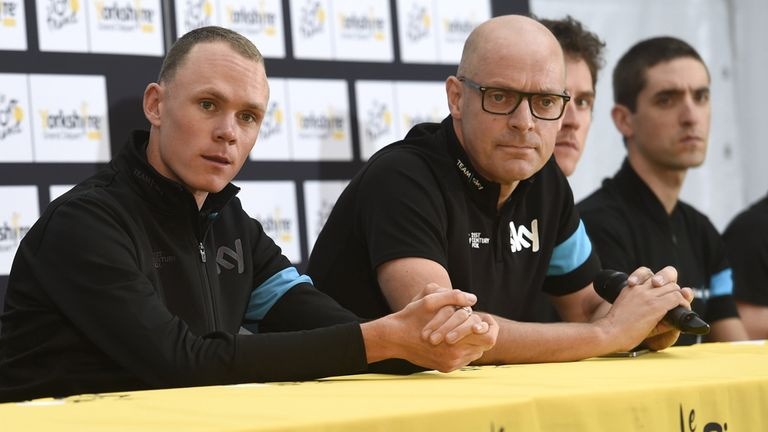 Sir Dave Brailsford says Chris Froome could now target the Vuelta a Espana