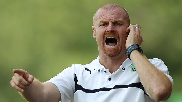 Sean Dyche: Watches on at the Crown Ground