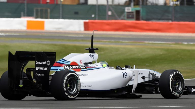 Felipe Massa: Fastest on day one of test