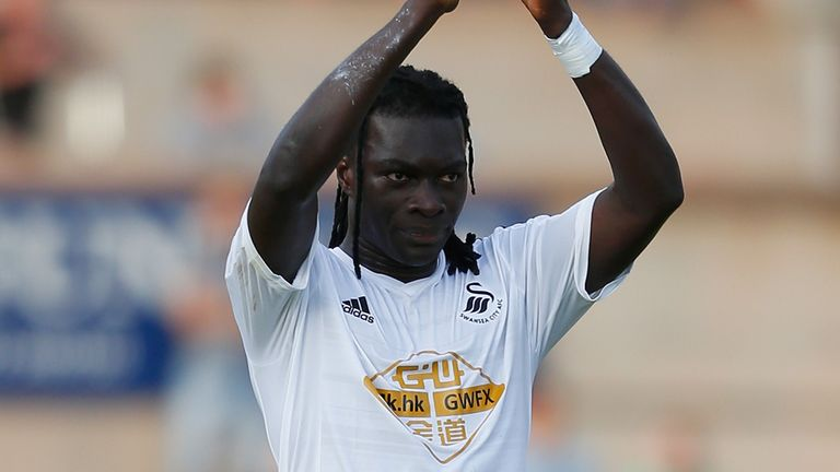 Gomis: Scored for Swansea