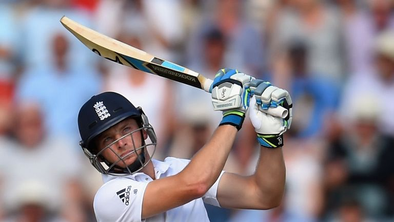 Crash, bang, wallop: Buttler bashed 85 on Test debut in Southampton