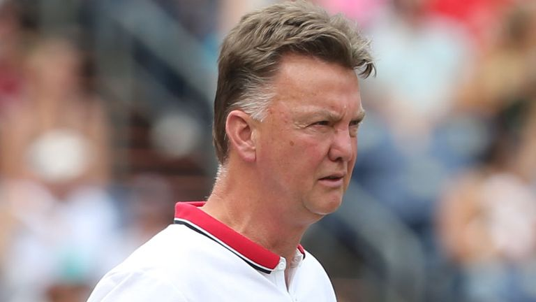 Louis van Gaal: Saw his United side beat Roma 3-2