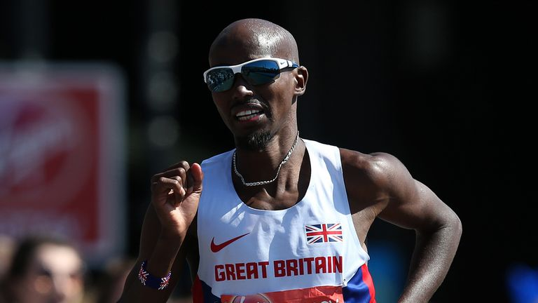 Mo Farah to compete at the Great North Run