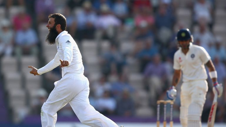 Moeen Ali: Two late wickets boosted England