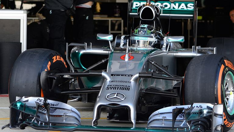 Nico Rosberg: Completed 90 laps at Silverstone