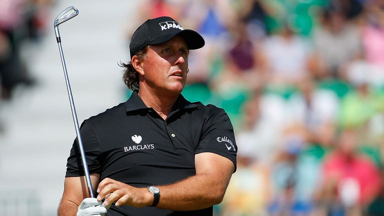 Phil Mickelson: a closing 68 at Royal Liverpool