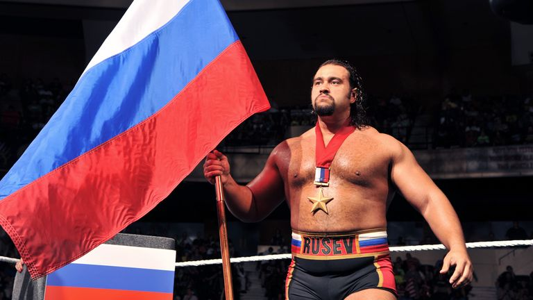 Rusev is proud to represent Russia