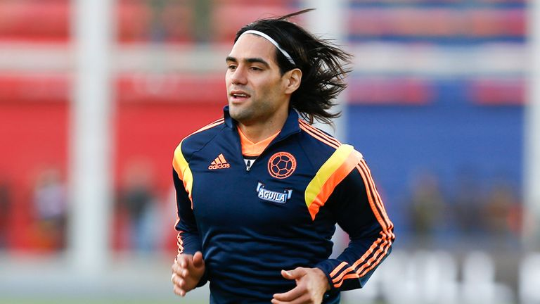 Radamel Falcao: Set to feature at the Emirates Cup