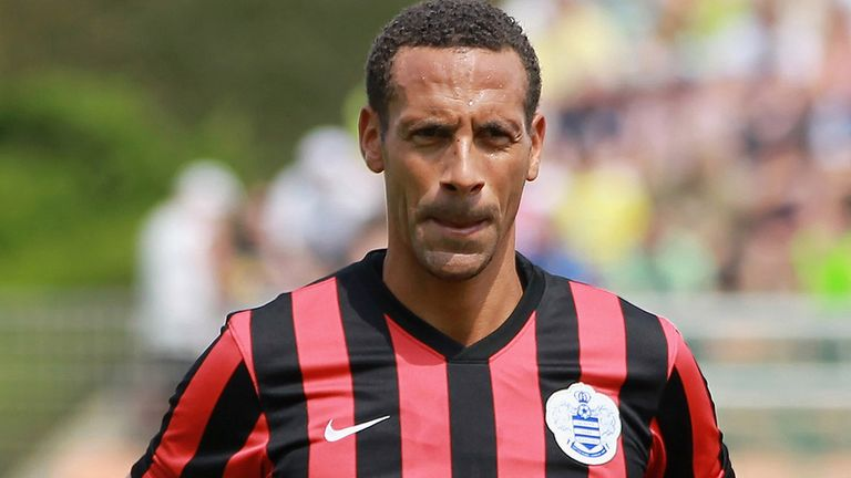 Rio Ferdinand: Made his QPR debut