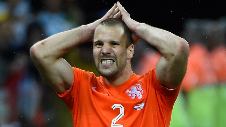 Ron Vlaar: Helped the Netherlands to third place at the World Cup