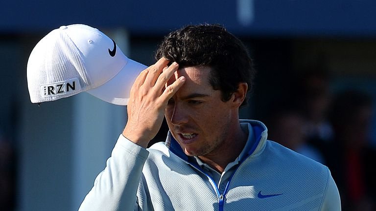 Rory McIlroy: Had another Friday to forget after a 78 at Royal Aberdeen