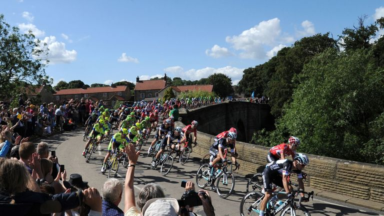 The Tour was watched by millions of fans on its first two stages in Yorkshire