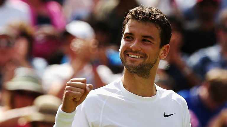Grigor Dimitrov: Confirmed his star potential with run to Wimbledon semi-finals