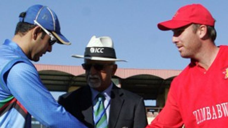 Zimbabwe now lead 2-0 in the four-match ODI series against Afghanistan.