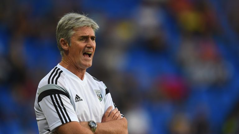 Alan Irvine: West Brom boss expecting a tough day at St Mary's