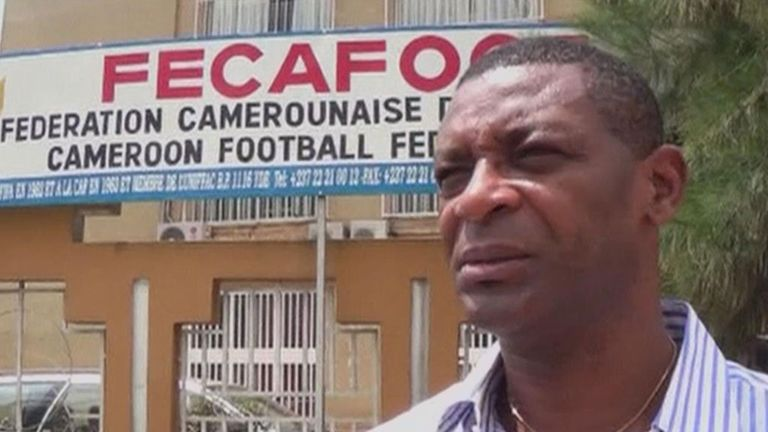 Francois Omam-Biyik: Played for Cameroon at 1990 World Cup
