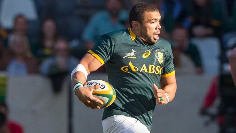 Bryan Habana could yet play for South Africa in Glasgow after French club Toulon changed their mind