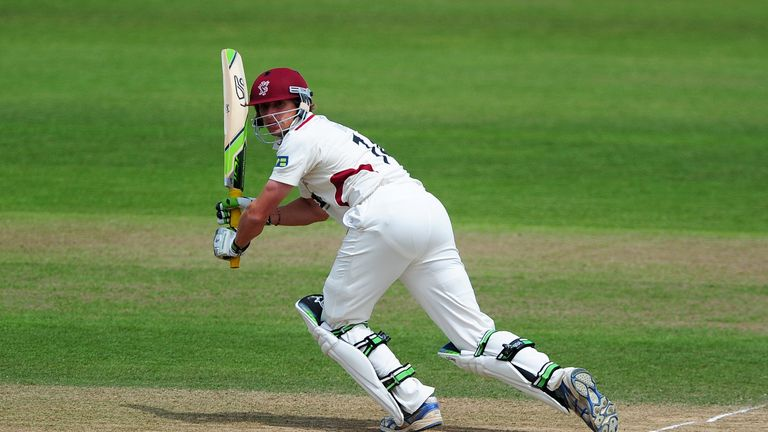 Chris Jones: Somerset opener hit 87 at Wantage Road