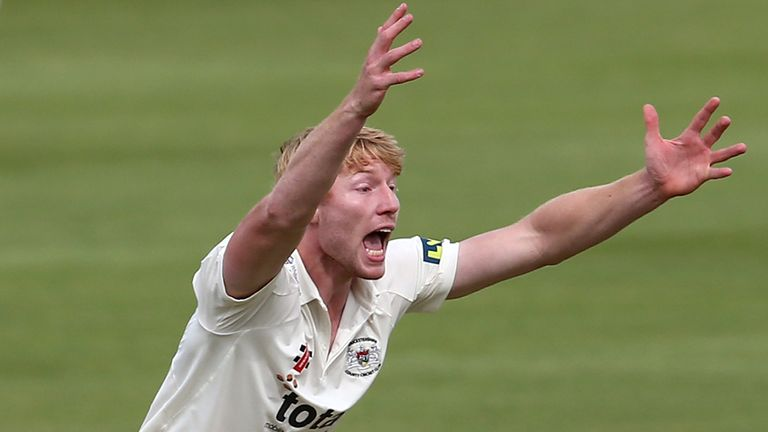 Liam Norwell: a new-ball spell of 4-16 for Gloucestershire