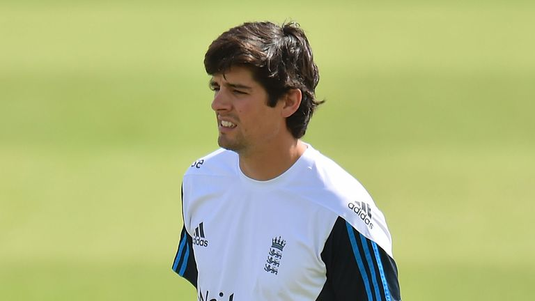 England captain Alastair Cook: Under pressure for runs