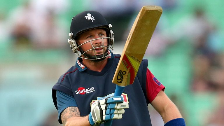 Darren Stevens of Kent reached the top of the NatWest T20 Blast FTI MVP table
