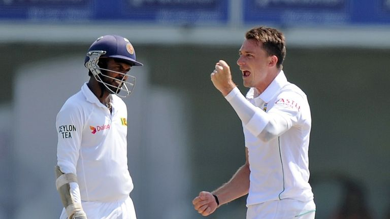 Dale Steyn: Took 5-50 as South Africa seized control