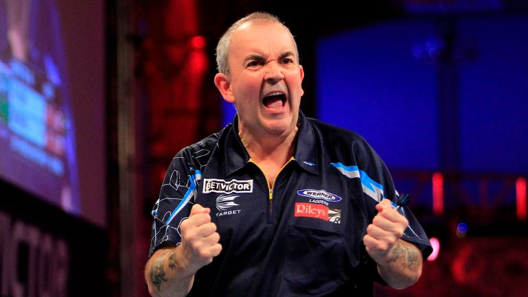 Phil Taylor: Secured 15th World Matchplay title on Sunday (photo: Lawrence Lustig)