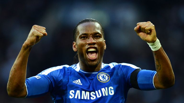 Didier Drogba: Striker has been given a one-year deal by Chelsea
