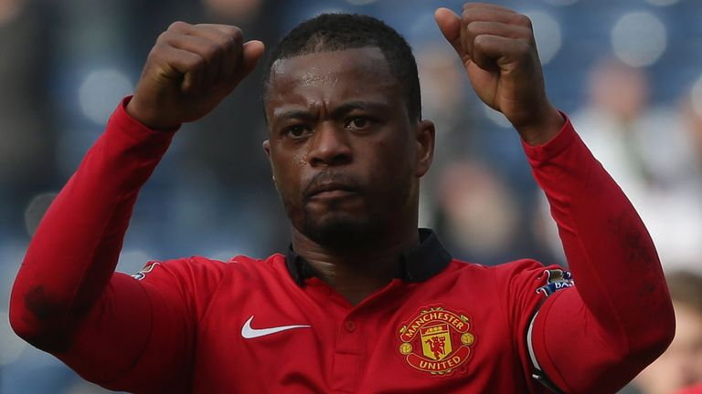 Patrice Evra: Manchester United defender has joined Juventus