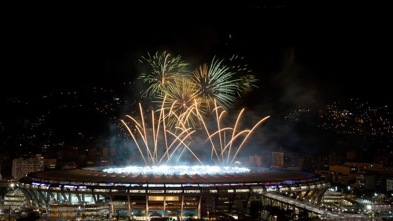 Carnival: The World Cup came to a close at the Maracana in Brazil on Sunday night