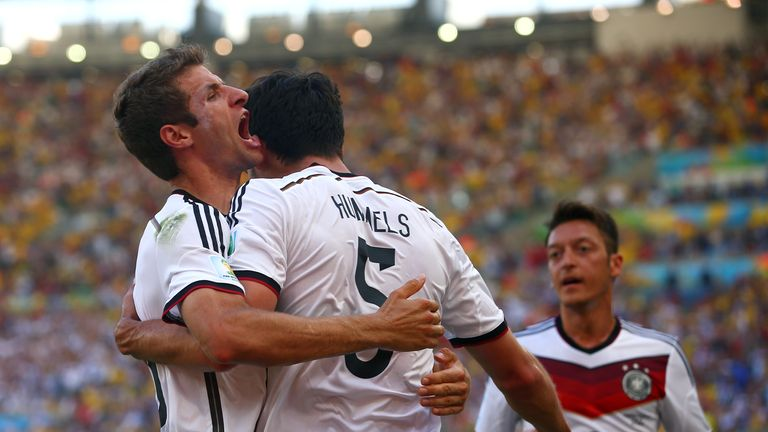 Thomas Muller and Mats Hummels: Germany duo are in the Golden Ball running