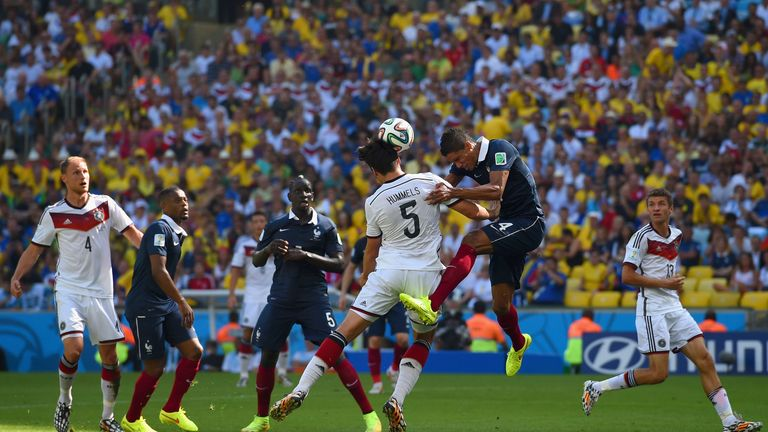 Mats Hummels: Heads home only goal above Varane