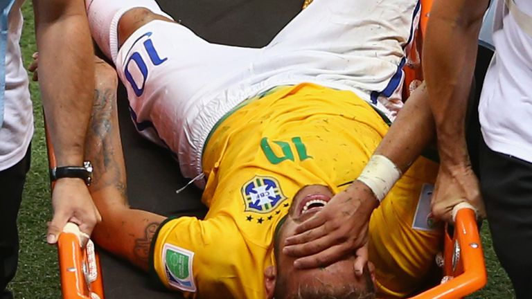 Injury to Neymar against Colombia will force Brazil into an attacking reshuffle