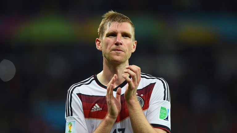Per Mertesacker: Retires from international football