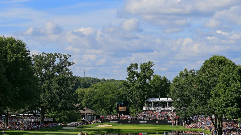 Firestone Country Club in Ohio hosts this week's WGC-Bridgestone Invitational