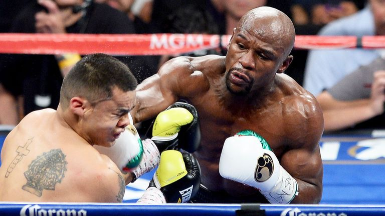Floyd Mayweather: Set to face Marcos Maidana again in September