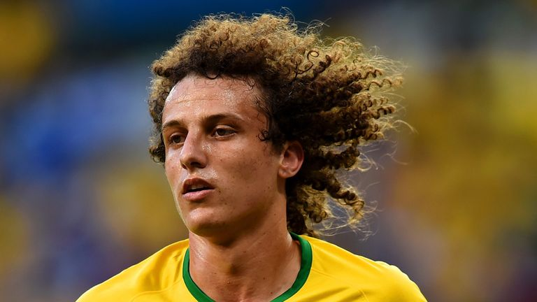 David Luiz: Brazil defender will be captain of the team against Germany for the World Cup semi-final