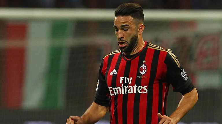 Adil Rami: Makes move to Milan permanent