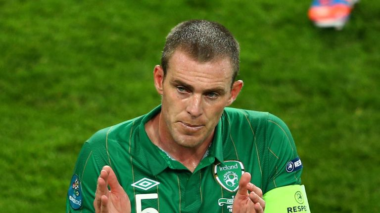 Richard Dunne: Made his Irish debut 14 years ago