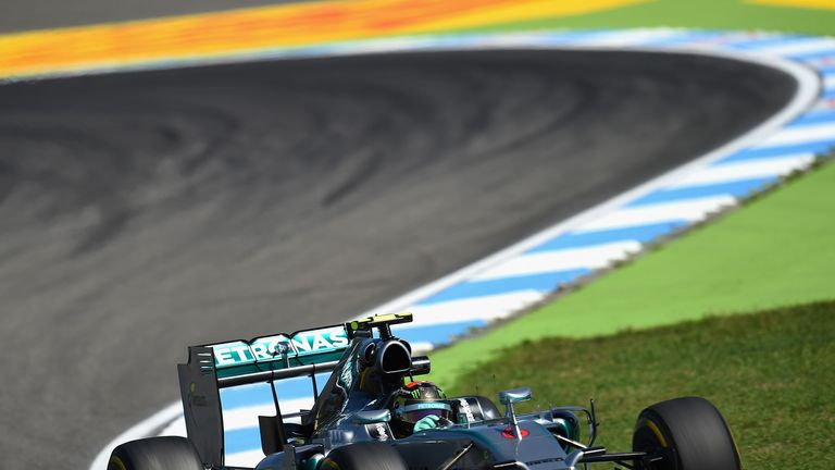 Nico Rosberg: Fastest in third practice on Saturday