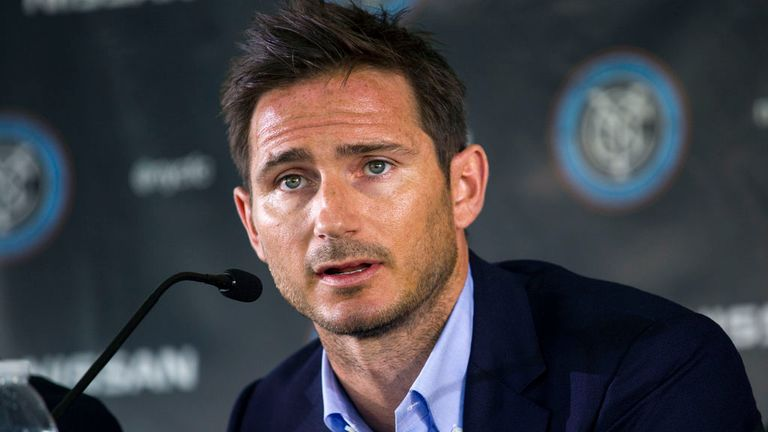 Frank Lampard: Expected to make loan move after signing for New York City FC