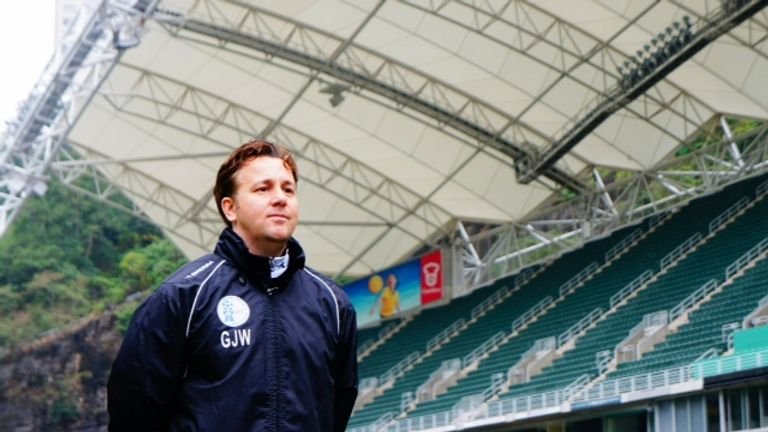Gary White: Has led Guam to success in East Asian Cup preliminary qualifying